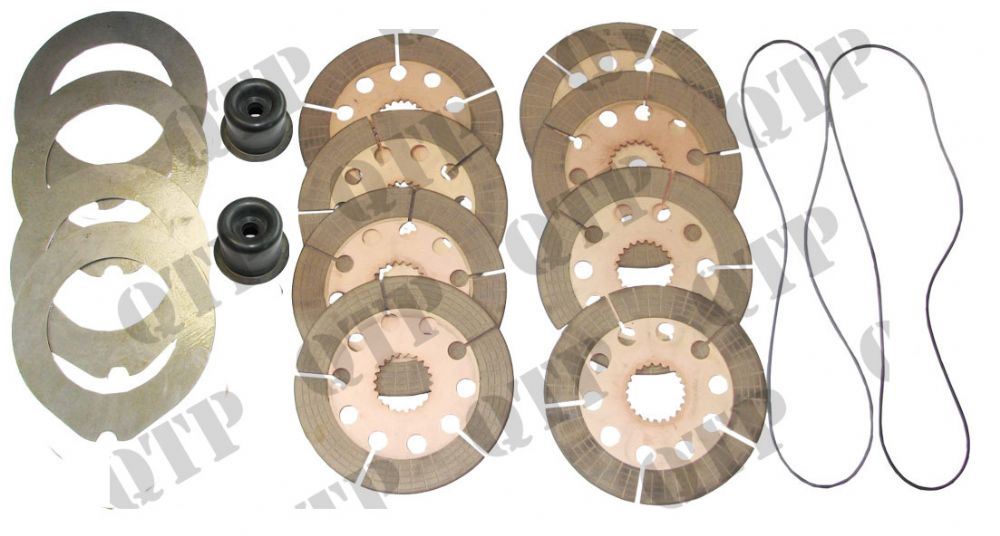 Brake Kit Ford 40 - With Slots